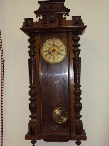 A Vienna-type wall clock