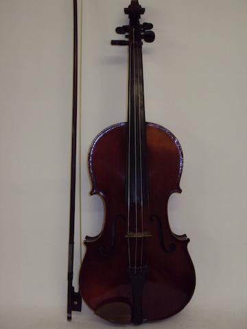 A violin and a Vuillaume bow