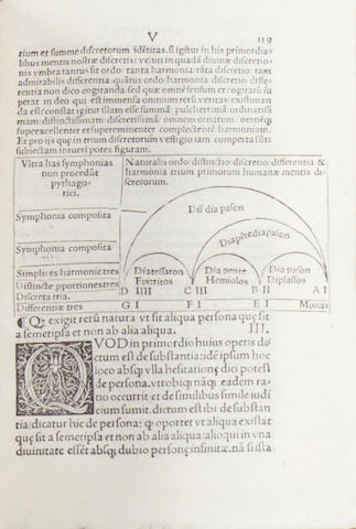RICHARDUS de Sancto Victore. De superdivina Trinitate theologicu[m] opus, 1510