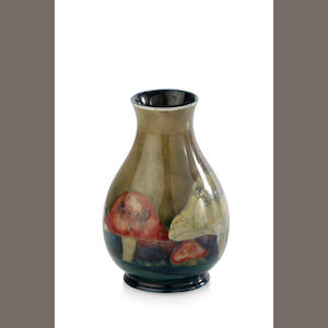 "A William Moorcroft ovid ""Claremont"" pattern vase, circa 1920"