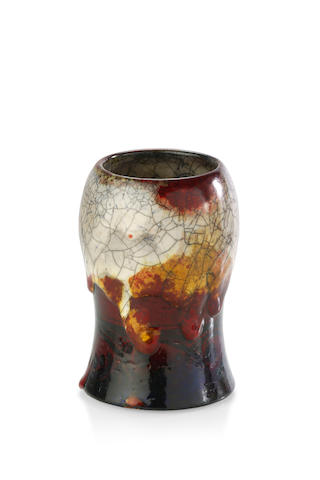 A Royal Doulton 'Chang' vase designed by Charles Noke, Fred Allen and Harry Nixon circa 1925