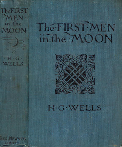WELLS (H.G.) The First Men in the Moon, 1901