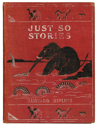 KIPLING (RUDYARD) Just So Stories, 1902; and 5 others, also Kipling (6)