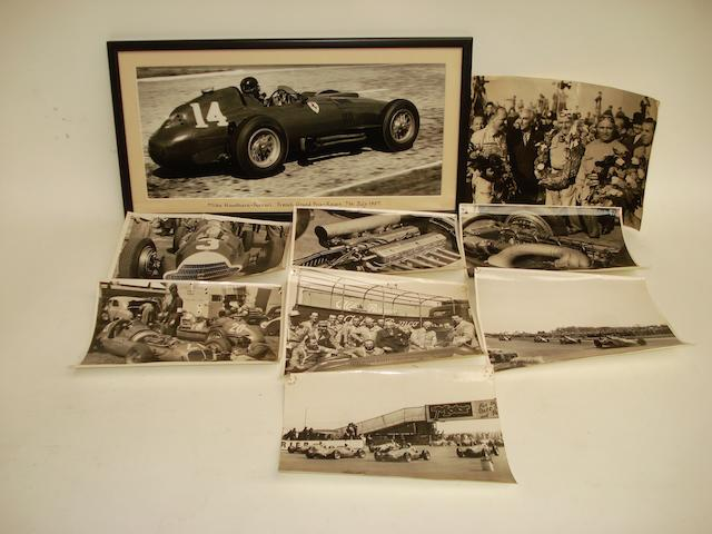 Photographs of the 1950 Grand Prix at Silverstone,