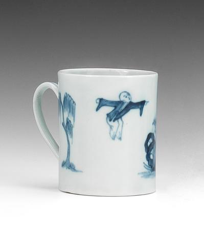 A Chaffers coffee can, circa 1758-60