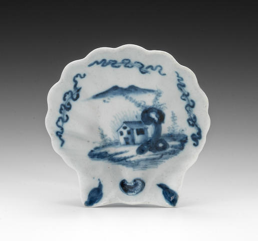 A Limehouse pickle dish, circa 1746-48