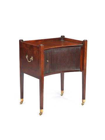 A George III tambour commode