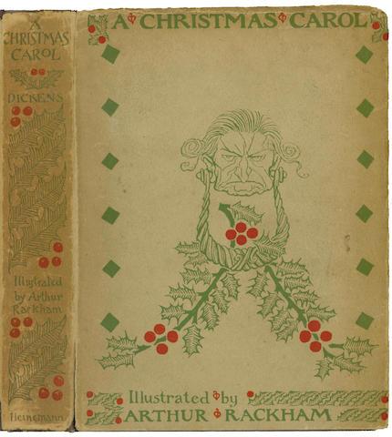 RACKHAM (ARTHUR) DICKENS (CHARLES) A Christmas Carol, 1915