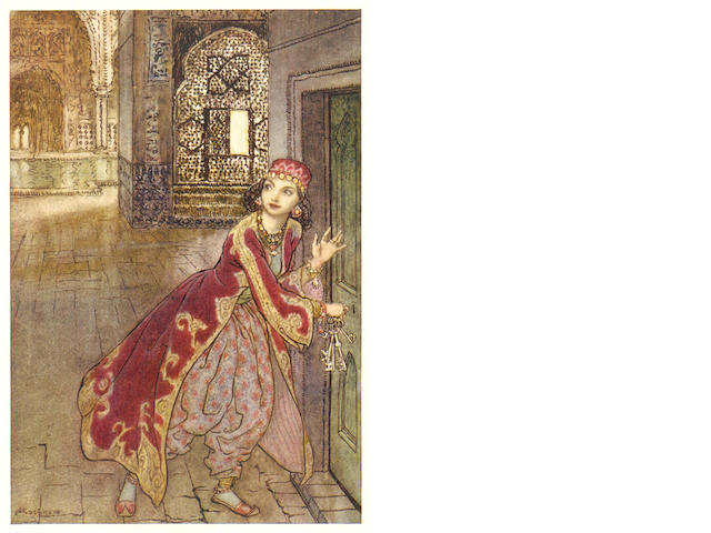 RACKHAM (ARTHUR) [CHILD (FRANCIS JAMES)] Some British Ballads, 1919; and 3 others, also illustrated by Rackham (4)