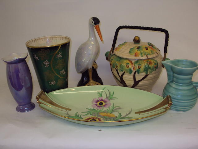 A collection of various Carlton Ware items