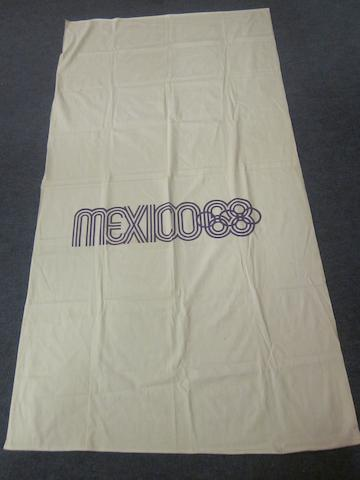 Mexico 1968 Olympic Games flag