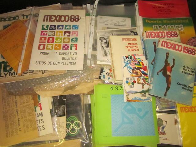 1968 Mexico Olympics Games memorabilia