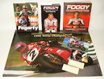 Carl Fogarty's 1998 Brands Hatch World Superbike Championship race-used helmet, by Shark,