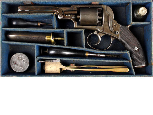 A Cased Five-Shot Percussion Revolver