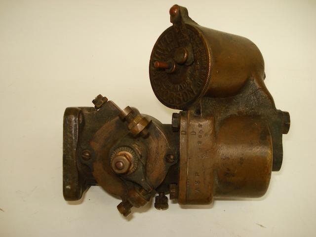 A Vintage Claudel Hobson carburettor,