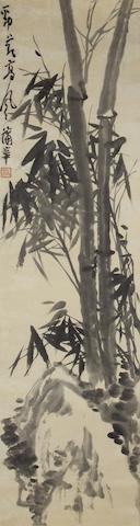 Shanghai School Inscribed Pu Hua(1830/32-1911)