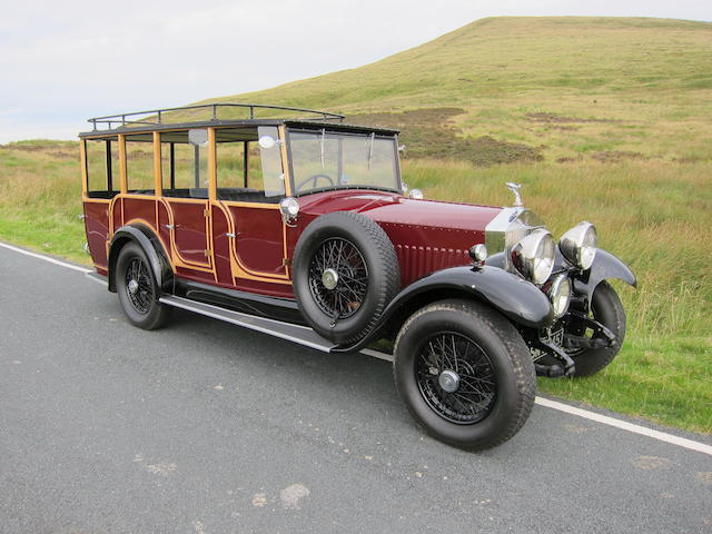 1931 Rolls-Royce 20/25hp 4½-Litre Shooting Brake  Chassis no. GNS1 Engine no. 1237/34