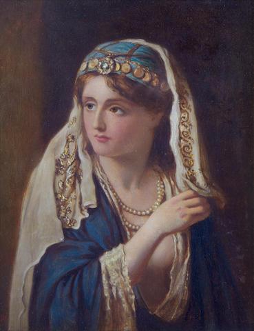 Francis John Wyburd (British, 1826-1893) Hinda