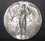 1908 Olympic Games participants medal - Arthur Astley