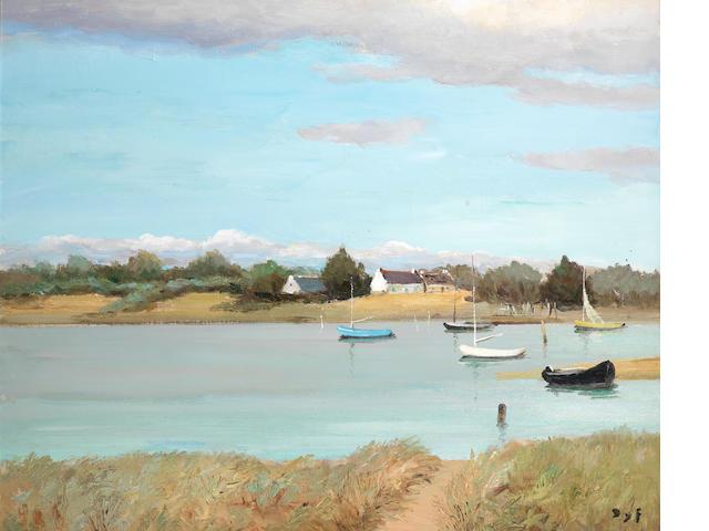 Marcel Dyf (French, 1899-1985) Rivière de Banastere