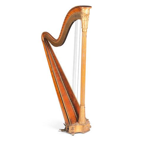 A Grecian Harp by Sebastian Erard