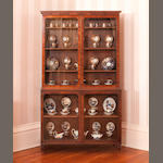 A Regency mahogany china cabinet, circa 1810