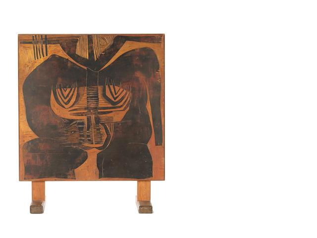 Cecil Edwin Frans Skotnes (South African, 1926-2009) 'Ancestors'