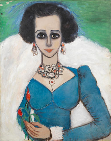 Fahrelnissa Zeid (Turkish, 1901-91) Arabian Queen
