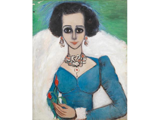 Fahrelnissa Zeid (Turkish, 1901-91) Arabian Queen