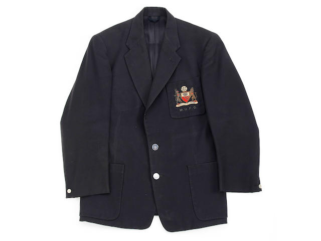 1957/58 Manchester United official blazer worn by Busby Babe Ken Morgans
