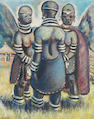 Gerard Sekoto (South African, 1913-1993) Mandebele women