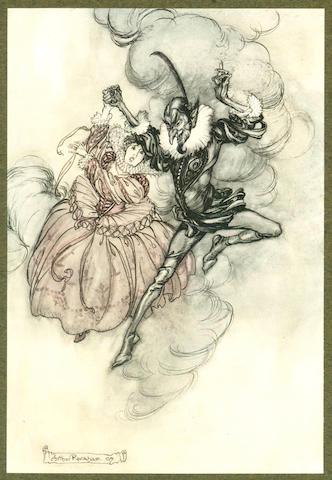 RACKHAM (ARTHUR). [BARHAM (RICHARD HARRIS)] The Ingoldsby Legends, NUMBER 58 OF 560 COPIES, 1907