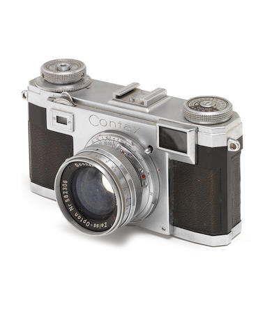 A Zeiss-Ikon Contax,