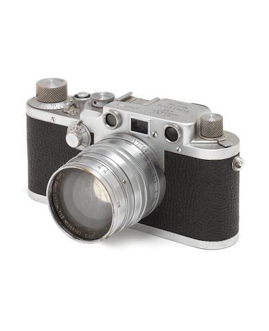 A Leica IIIc,