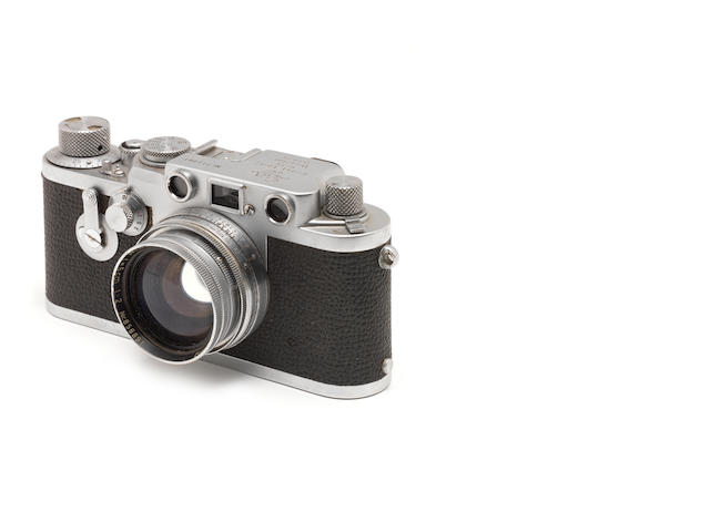 A Leica IIIf red dial No.713081 with Summitar lens, no. 858891.