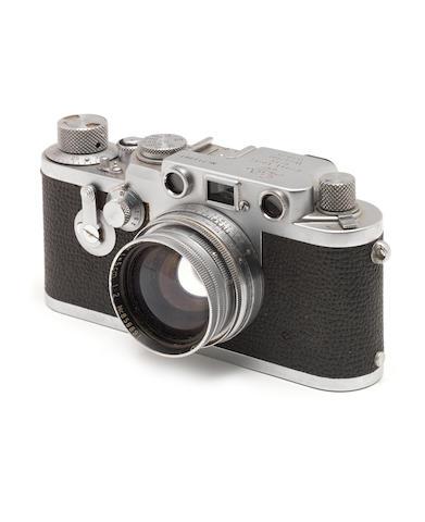 A Leica IIIf red dial,
