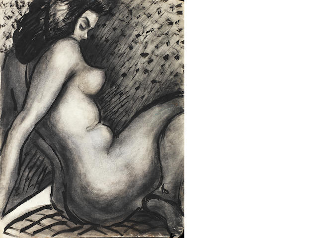 Fahrelnissa Zeid (Turkish, 1901-91) Six female nudes (6)