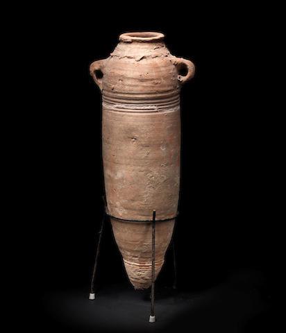A Roman pottery transport amphora