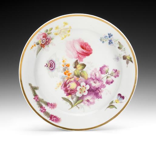 A good Swansea plate, circa 1815-17