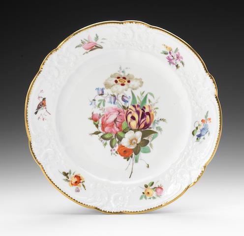 A good Nantgarw plate, circa 1818-20