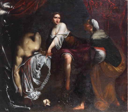 Studio of Francesco Furini (Florence 1604-1646) Judith and Holofernes