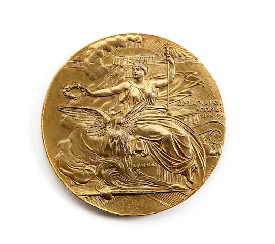 1906 Olympic Games participation medal