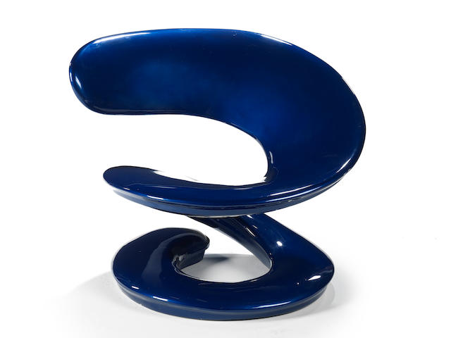 Louis Durot Spiral chair designed 1970  polyurethane