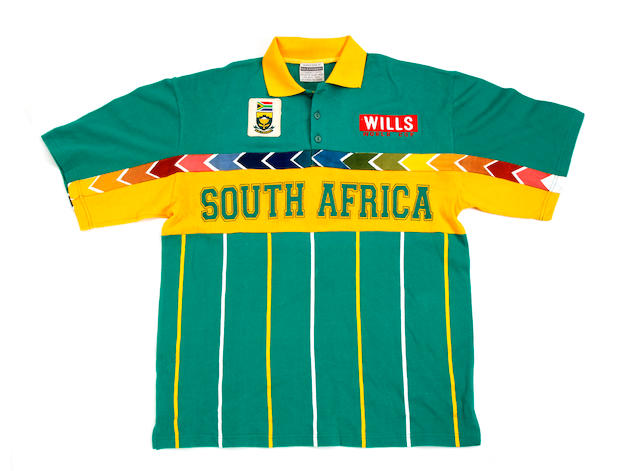 Hanse Cronje/Jonty Rhodes cricket shirts
