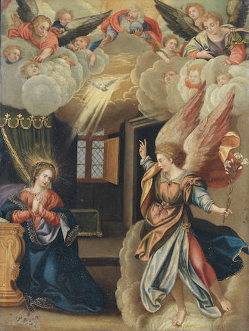 After Pieter de Witte, 17th Century The Annunciation