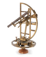 A rare John Bennett astronomical quadrant, English, mid 18th century