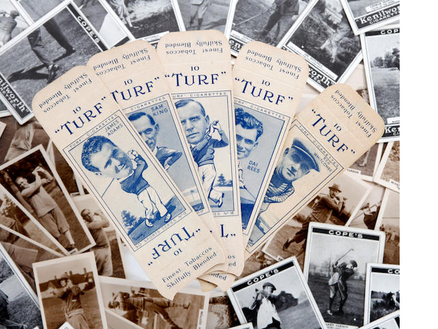 Cigarette Cards: Cope Bros 'Golf Strokes' circa 1923
