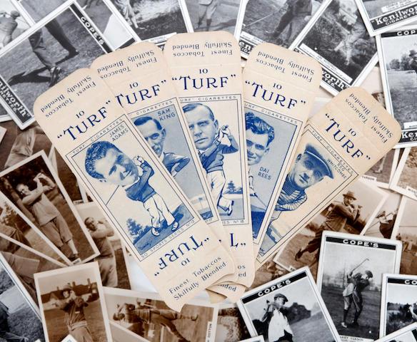 Cigarette Cards: Cope Bros 'Golf Strokes' circa 1923