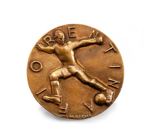 1931 Giovanni Berta stadium opening medal