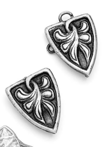 A cloak clasp, by Alexander Ritchie of Iona,